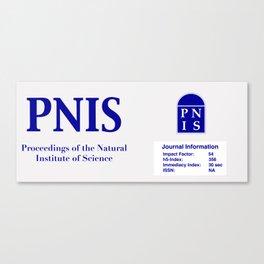 Official Logo Canvas Print
