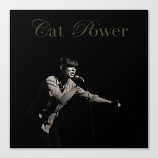 Cat Power Canvas Print