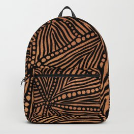 Rustic Triangles Backpack