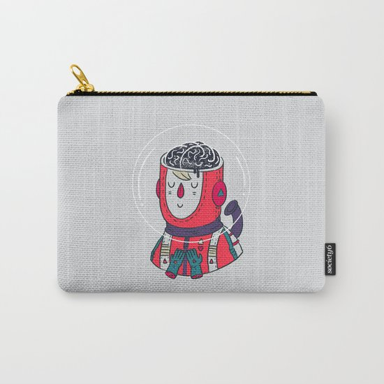 Space On The Brain Carry-All Pouch