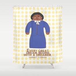 Harriet Tubman Shower Curtain