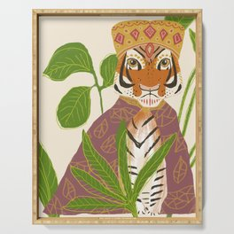 Tiger Queen Serving Tray