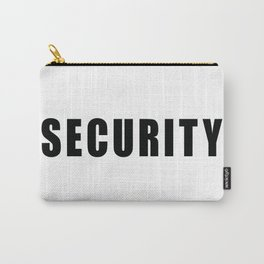 SECURITY TEE SHIRT inverse edition Carry-All Pouch