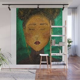 Wounded Nature Queen Wall Mural