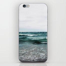 Turquoise Sea #2 iPhone Skin