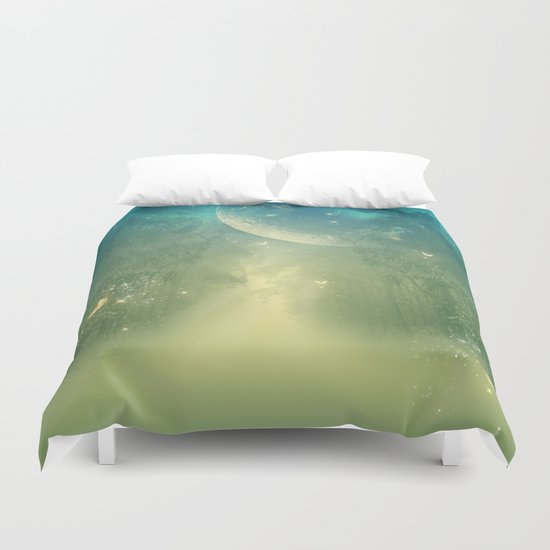 Mystical forest Duvet Cover