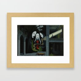 Living Through Secrets / Terms of Precedence Framed Art Print