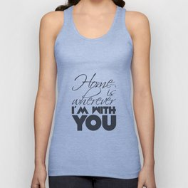 Let's go home... Unisex Tank Top