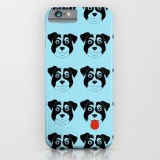 Dogs Blue Slim Case iPhone 6s