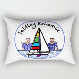 Beard Boy: Sailing Bohemia Rectangular Pillow