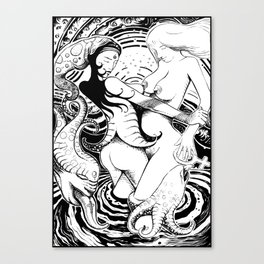 Lesbians Canvas Print