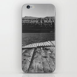 Broken Dock, Iceland iPhone Skin