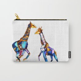 Giraffe Building Carry-All Pouch
