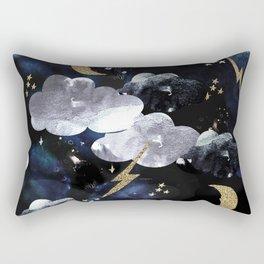 Cosmic lightning Rectangular Pillow