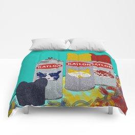 Paintin' with Katlon Comforters