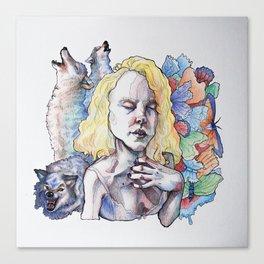 Wolf's Bite Canvas Print
