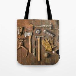 Tools (Color) Tote Bag