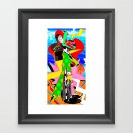 Bolt Framed Art Print
