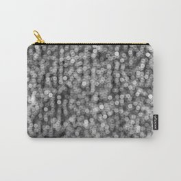 The Lights (Black and White) Carry-All Pouch