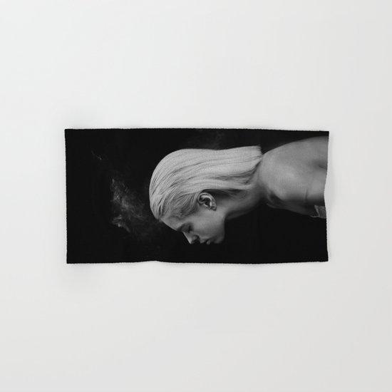 Black white Hand & Bath Towel
