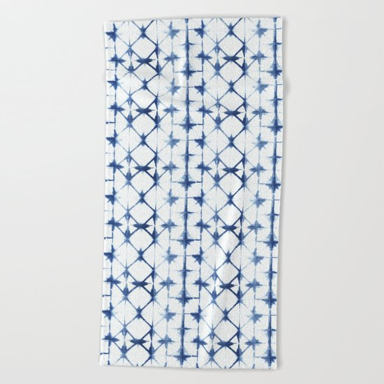 Shibori Thirteen Beach Towel