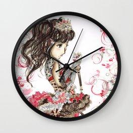 DIA VALENTINE DAY Idolized Wall Clock