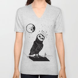 It's Time to go now. Unisex V-Neck