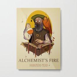 Alchemist's Fire Habanero Mead Metal Print
