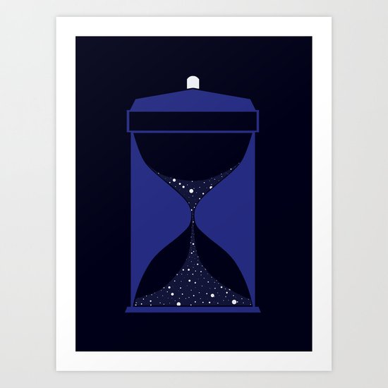 Through time and space Art Print