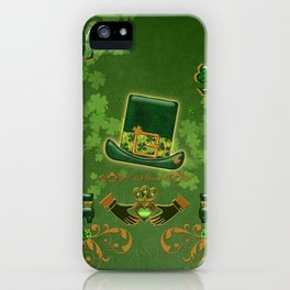 Happy st. patricks day iPhone Case