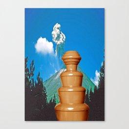sjokolade&fjellet Canvas Print