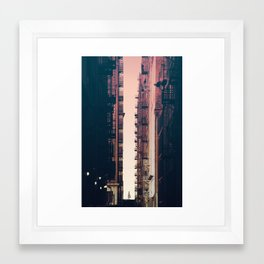 Between the Buildings - Downtown LA #36 Framed Art Print
