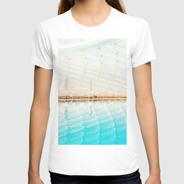 ARCHITECTURAL PHOTOGRAPHY OF AN INDOOR POOL T-shirt