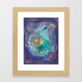 Love Yourself Fiercely Framed Art Print