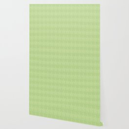 Green and white fir tree stars Wallpaper