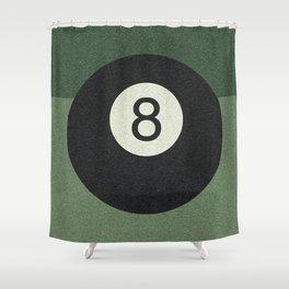 eightball Shower Curtain