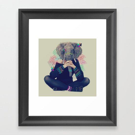 LX Framed Art Print