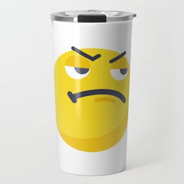 Like a Boss_emoji Travel Mug