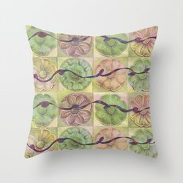 Ribbon Pattern Throw Pillow