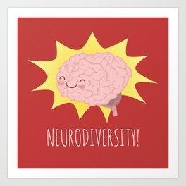 Neurodiversity! Art Print