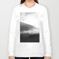 lip Long Sleeve T-shirts featuring Under Lip by James Tull