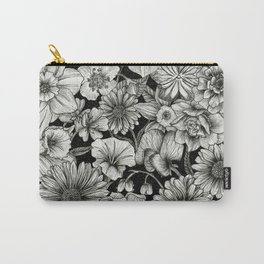 Birth Flower Bundle Carry-All Pouch
