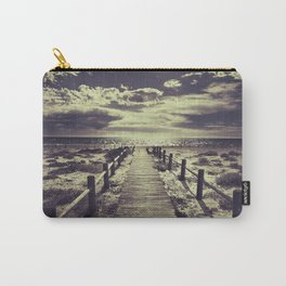 To the beach.... Carry-All Pouch