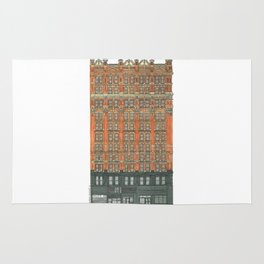 Don't Forget to Look Up: Potter Building Rug