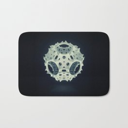 Icosahedron Bloom Bath Mat
