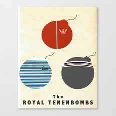 The Royal Tenenbombs Canvas Print
