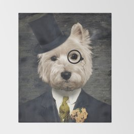 0001ac17a81 Top Hat Throw Blankets