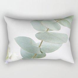 Gentle Soft Green Leaves #1 #decor #art #society6 Rectangular Pillow