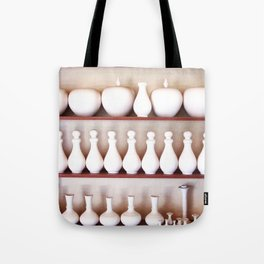 Pottery Production Tote Bag