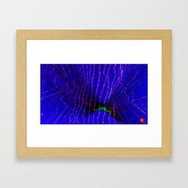 Cyberdelic Reality Framed Art Print